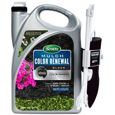 Scotts Mulch Color Renewal Black 1 gal.