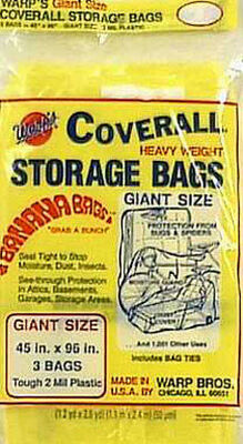 Warp's Giant Storage Bag Yellow 96 in. D