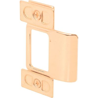 Mag Security Adjust A Strike 1/4 in. 2.8 in. x 1.3 in. x 0.5 in. Polished Brass