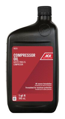 Ace Compressor Oil Plastic 1 qt.