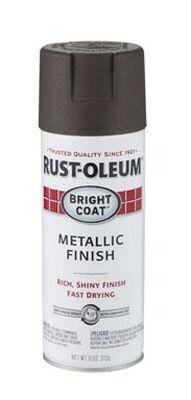 Rust-Oleum Stops Rust Dark Bronze Bright Coat Metallic Spray 11 oz.