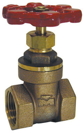 B & K 3/4 in. FPT x 3/4 in. Dia. Red Gate Valve 200 psi