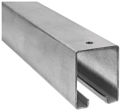 Stanley Steel Box Rail 1-7/8 in. W x 10 L 1
