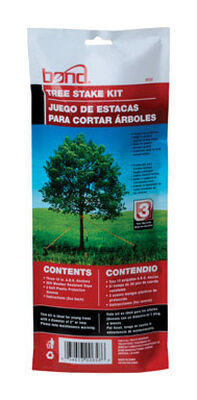 Bond Manufacturing Plastic Tree Stakes 10 in. H