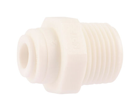 SharkBite Push to Connect 1/4 in. Dia. x 3/8 in. Dia. MIP Adapter