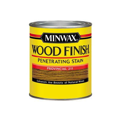 Minwax Wood Finish Transparent Oil-Based Wood Stain Provincial 1 qt.