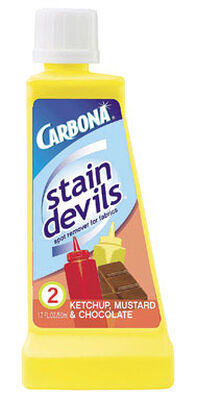 Carbona Stain Devils Chocolate Ketchup and Mustard Stain Remover