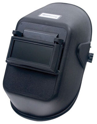 Forney Welding Helmet 2 in. x 4-1/4 in. Shade No.10 Colored Lens and Clear Plastic Cover Lens Clear