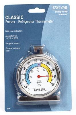 Taylor Analog Refrigerator Thermometer -20 To 80
