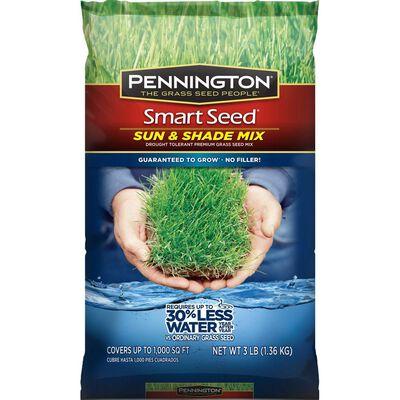 Pennington Smart Seed Sun and Shade Mix Sun & Shade Grass Seed 3 lb.