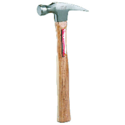 Ace 16 oz. Round Face Hickory Rip Claw Hammer Forged Steel
