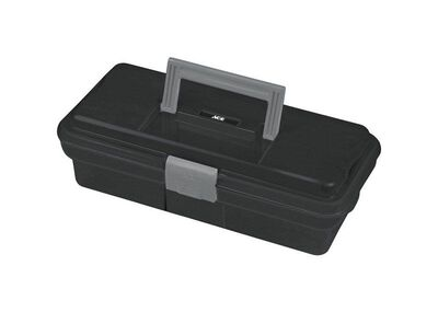 Ace One Latch Tool Box 12 in. L Plastic