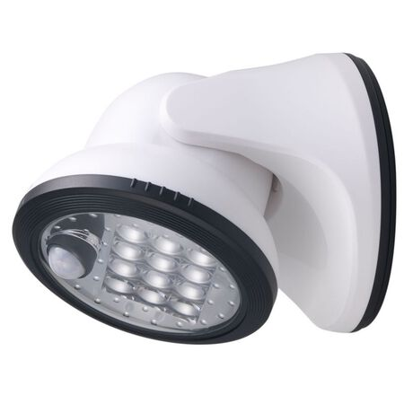 Fulcrum LIGHT IT 1 lights White LED Outdoor Sensor Light