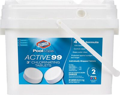 "Clorox Active99 3""Chlorinating 25lb"