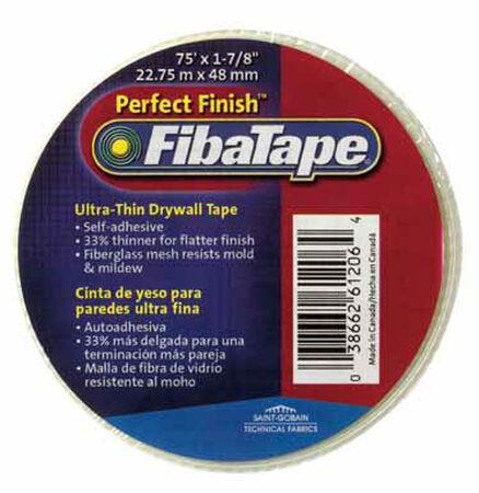 FibaTape Drywall Tape Fiberglass Mesh Self Adhesive 1-7/8 in. W x 75 ft. L