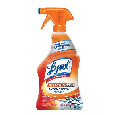 Lysol Kitchen Pro Antibacterial Cleaner 22 oz. Liquid For Kitchens
