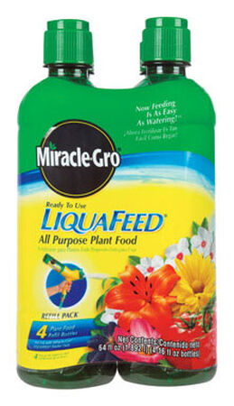 Miracle-Gro LiquaFeed Plant Food For Plants Trees Shrubs 4-16 oz.