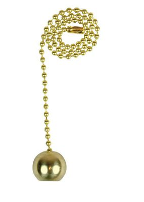 Jandorf Pull Chain Brass 1 ft. L 1 pk
