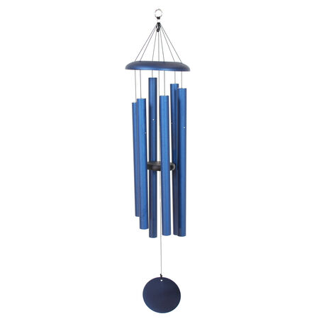 "Corinthian Bells, 44"" Midnight Blue Windchime"