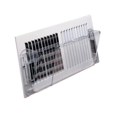 Deflect-O 5-1/2 in. H x 16 in. W Clear Plastic Air Deflector