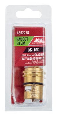 Ace Low Lead Cold 3S-10C Faucet Stem For Glacier Bay & Aquasource