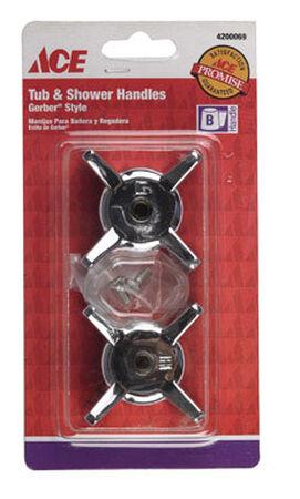 Ace Gerber Metal Hot and Cold Faucet Handles