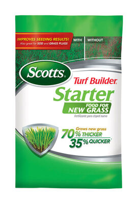 Scotts Turf Builder Starter Fertilizer New Grass 1000 sq. ft. Granules 24-25-4