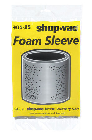 Shop-Vac Wet/Dry Vac Foam Filter Sleeve 1 pk For Use with Most Shop-Vac Wet/Dry Vacs