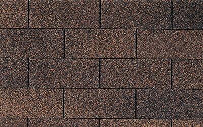 Roof Supreme 3 tab Brown wood