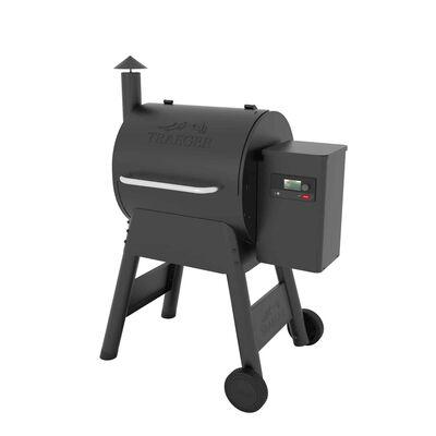 Traeger Pro 575 Wood Pellet Freestanding Grill Black
