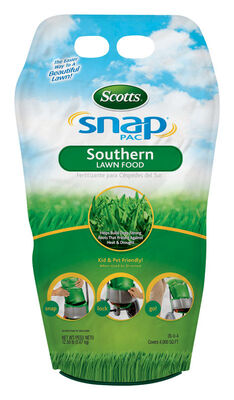 Scotts Snap Pac Lawn Food All Florida Grasses 4000 sq. ft. 26-0-4