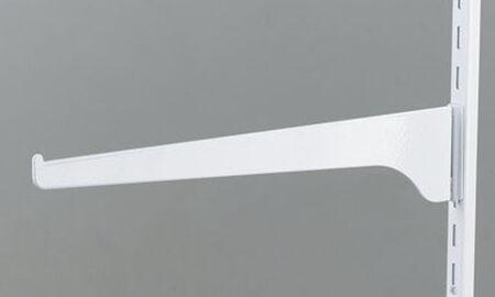 Knape & Vogt Steel White 16 Ga. Shelf Support Bracket 12 in. L