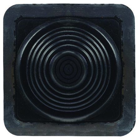 Oatey Master Flash Metal Plastic Rubber Roof Flashing Black 1/4 to 4 in. H x 8 in. L x 8 in.