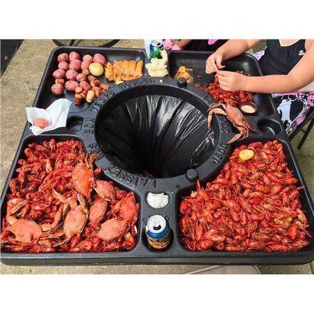 Bayou Classic Seafood Party Table