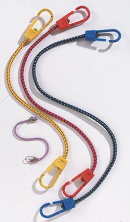 Keeper Corporation Keeper Bungee Cord Set 10 in. 0 lb. 12 pk