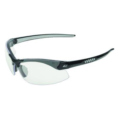 Edge Eyewear Multi-Purpose Safety Glasses Antifog Clear Lens Black Frame Bulk