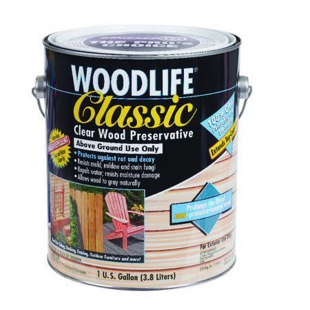 Woodlife Classic Water-Based Wood Preservative Clear 1 gal.