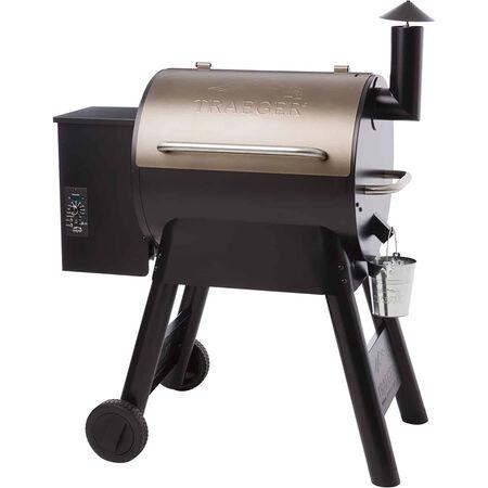 Traeger Pro Series 22 Wood Pellet Freestanding Grill Bronze