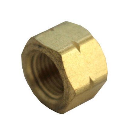 Ace 1/8 in. FIP Yellow Brass Cap