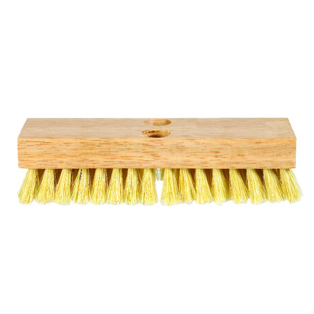 DQB 8 in. W Wood Scrub Brush Acid