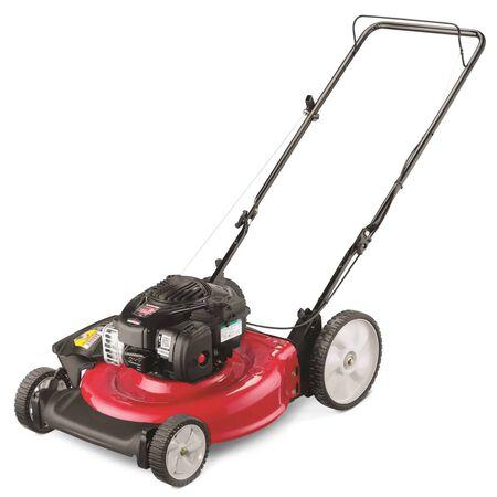 YardMachines 140 cc Manual-Push Lawn Mower 11A-BOBL700