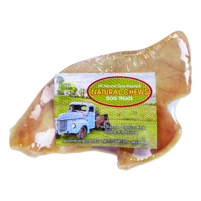 Ecco Farms Natural Chews All Ages Dog Treat Bone Pig Ear 1 pk