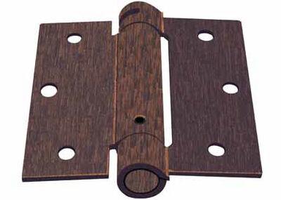 Ace Bronze 3.5 in. L x 3.5 in. L x 3.5 in. Dia. Door Hinge 1 pk Tuscan Bronze