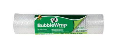 Duck 16 in. W x 9 ft. L Bubble Wrap