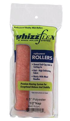 Whizz Flex Knit Paint Roller Cover 1/2 in. L x 6-1/2 in. W 2 pk
