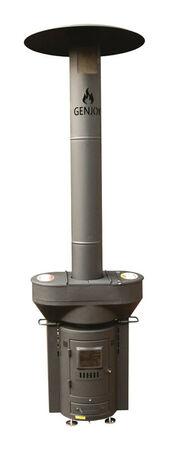 QSTOVES Q-Flame 106000 BTU 314 sq. ft. Wood Pellet Stove