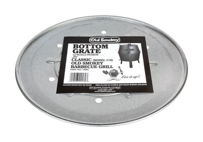 Old Smokey Plated Steel Bottom Charcoal Grate 18 in. W 14-1/2 in.
