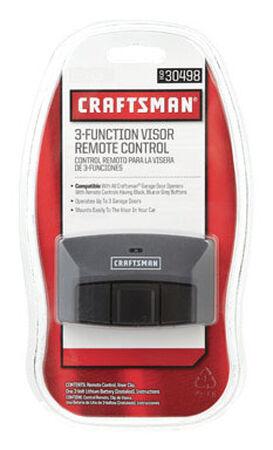 Craftsman 3 Function Garage Door Remote 3 Door