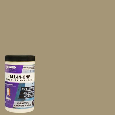 BEYOND PAINT Matte Linen Water-Based Acrylic All-In-One Paint 1 qt.