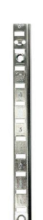 Knape & Vogt Steel Zinc-Plated 23 Ga. Shelf Pilaster 36 in. L